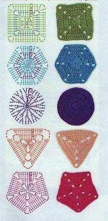 Serwetki - wzory szydełkowe