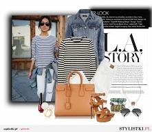 Pasiak i jeans zawsze w modzie :)