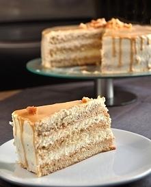 Tort śmietanowy z toffi