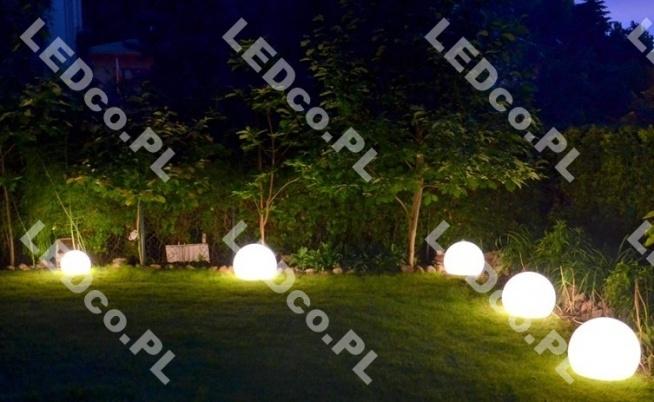 Świetny pomysł na oświetlenie ogrodu. Teraz Kula Terra w jeszcze niższej cenie. Sprawdź na LEDco.pl