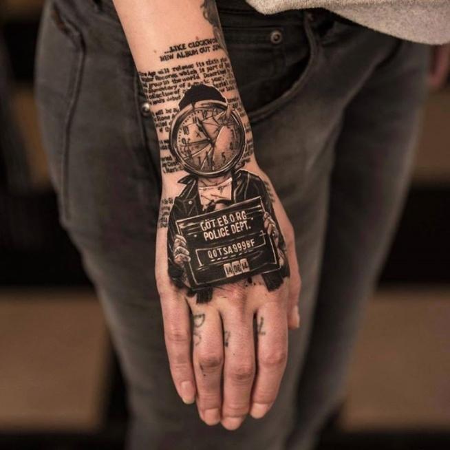 Tatuaż Na Ręce Na Tattoo Zszywkapl