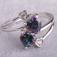 pierścionek srebrny z topazem dostępny u mnie za 53zł