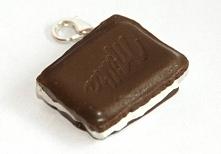 Kostka czekolady, breloczek...