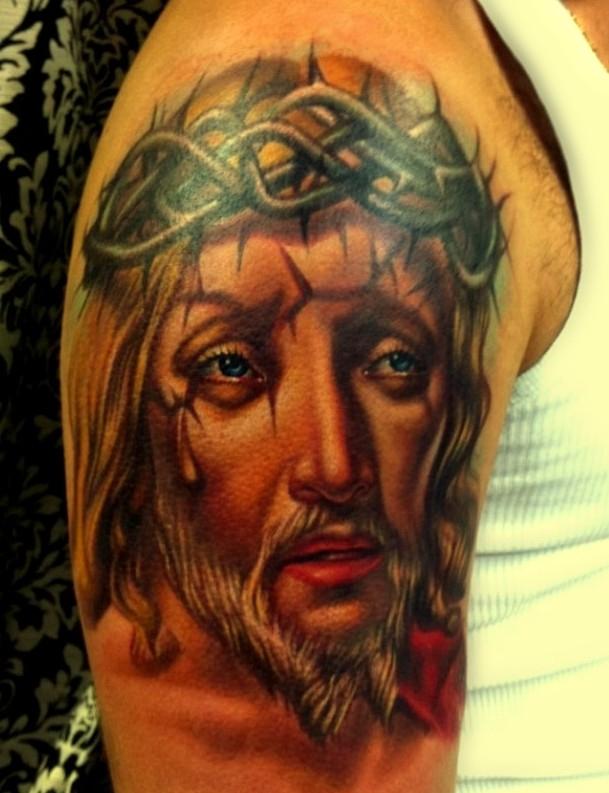 Jezus Wzory Tatuaży Na Ciekawe Tatuaże Zszywkapl