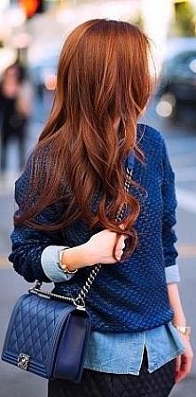 cudowny kolor włosów ;)