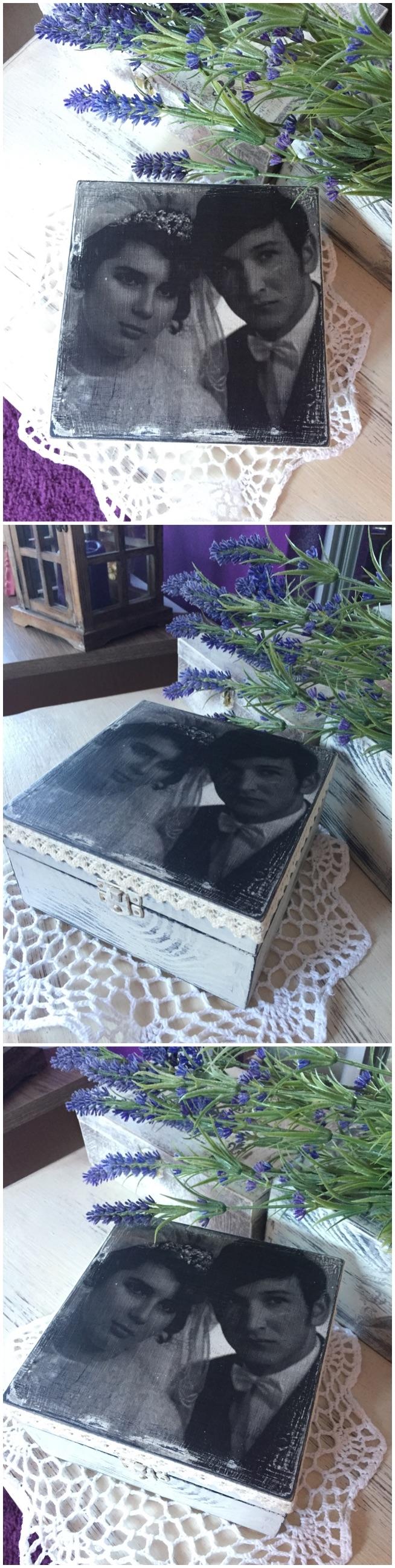 prezent na rocznicę ślubu - moi rodzice :)