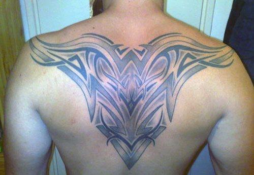 Tatuaże Męskie Tribal Na Plecach Na Tatuaże Zszywkapl