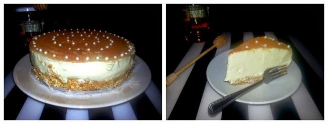 Przepis na pyszny lodowy sernik cynamonowo miodowy znajdziecie klikając w zdjęcie i na facebooku: bo lubię jeść!  Jeśli spodobał Ci się przepis zostaw lajka:)
