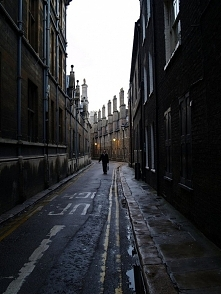 Dark Street, Cambridge, Eng...