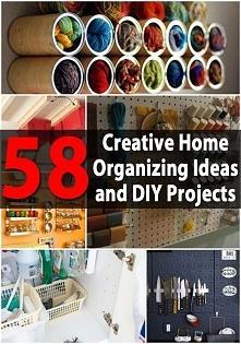 58 pomysły na organizację przestrzeni