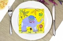 Serwetki dekoracyjne PAW HAPPY ELEPHANT 20 szt.