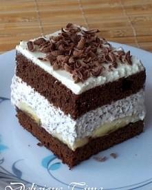 Ciasto czekoladowe z banana...