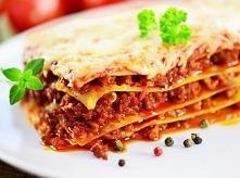 Lasagne bolognese składniki i przygotowanie: Składniki: 200 g makaronu lasagn...