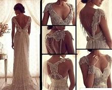 Ah kocham śluby i takie suknie <3