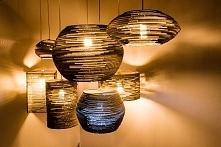 lampy z tektury falistej
