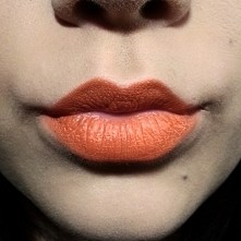 Pomarańcz na ustach?  Czemu nie? :-D