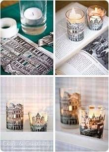 pomysłowe świeczniki