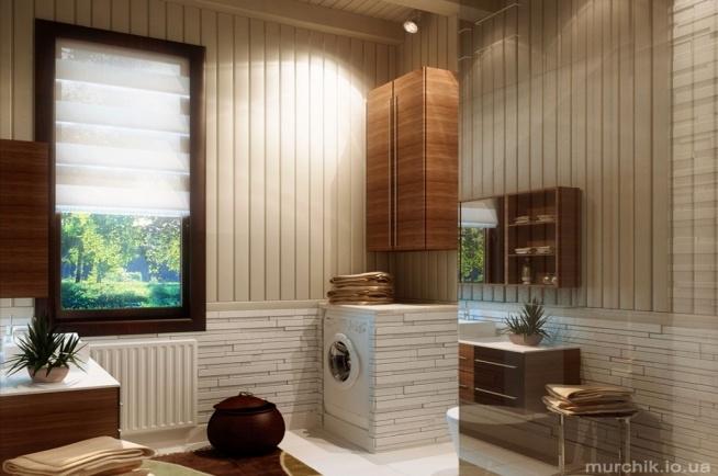 Projekt łazienki W Bieli Beżu I Brązie Calvado Na