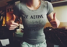 Be active | Get sweaty | Fe...