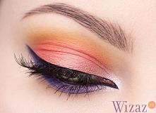 Kontrastowy makijaż oczu krok po kroku