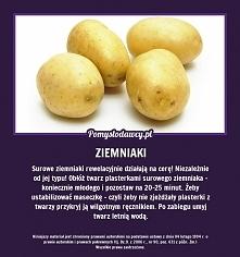 ziemniaki na cerę