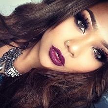 ostry makijaż! :D