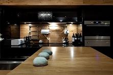 Projekt kuchni w czerni- ca...
