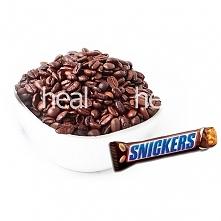 Kawa Snickers Arabica ziarnista  Kawa o aromacie popularnego batona Snickers ...