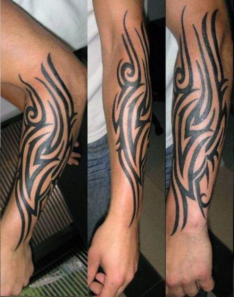 Tatuaże Męskie Tribal Na Ręce Na Tatuaże Zszywkapl
