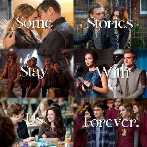 Niektóre historie zostają z nami na zawsze. <3