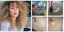 SPOSÓB NA LEPSZY SKRĘT WŁOSÓW: Potrzebne rzeczy: -soda oczyszczona, -łyżka, -szampon do włosów (obojętnie jaki), -miska lub talerzyk mały. Sposób przygotowania: 1. Odmieżyć łyżk...