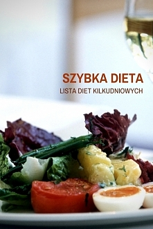 Szybka dieta - lista