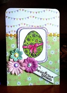 Easter Egg pink&green