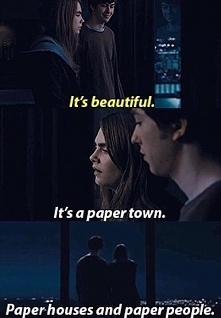 It's a paper town...