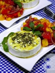 Pieczony Camembert z pomido...