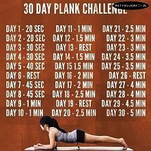 Plank - ćwiczenie izometryc...