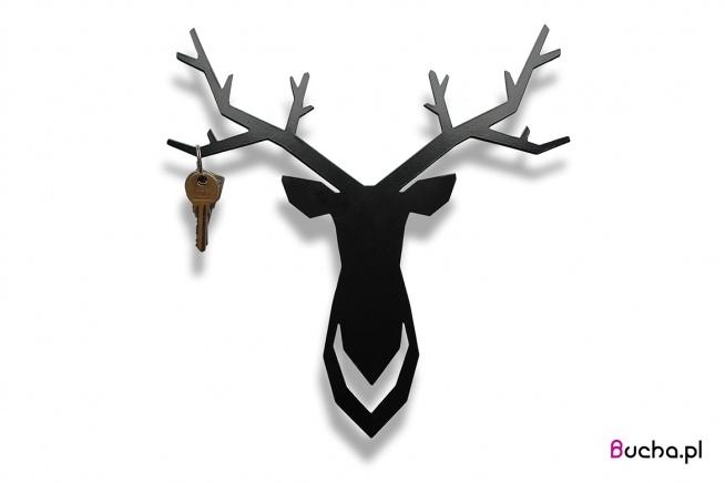 """Wieszak na klucze i biżuterię """"Jeleń"""" :)) Podoba się? Zapraszam do kontaktu!"""