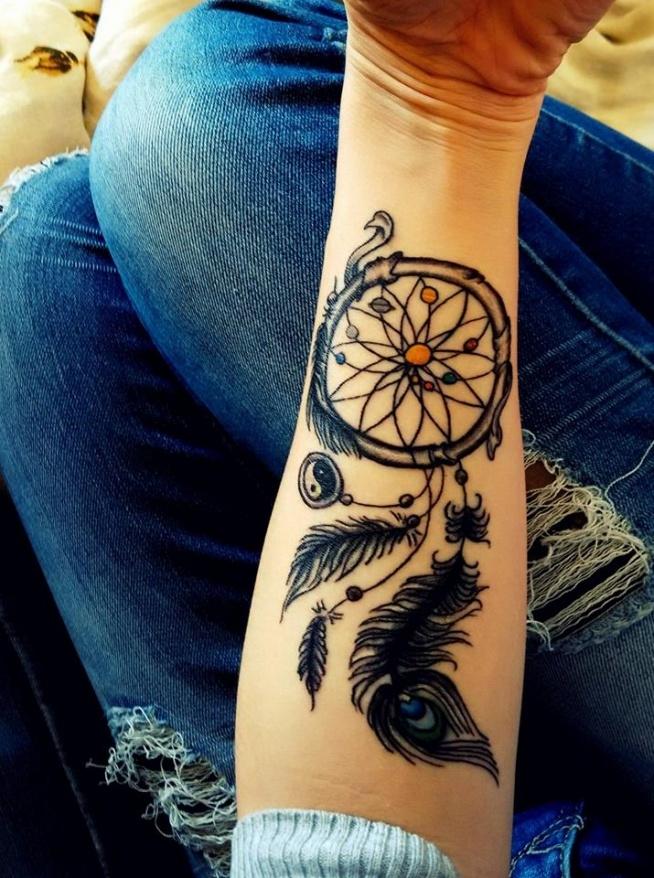 Tatuaż łapacz Snów Na Mój Styl Zszywkapl