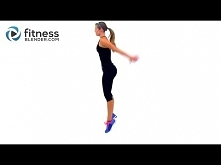 Can You HIIT like a Girl Round 2 - 28 Minute Fat Burning Cardio HIIT Workout ...
