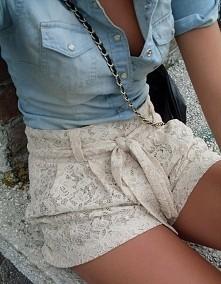 jeans&lace
