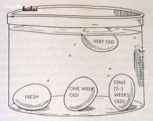 Jak sprawdzić czy jajko jest świeże.