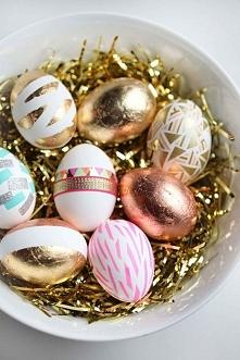 Jak fajnie ozdobić jajka na Wielkanoc >>>>