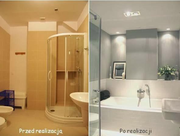 Metamorfoza łazienki Bez Zmiany Płytek Farba Do Glazury Na