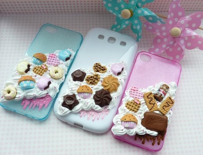 Słodkie obudowy na smartfony :)