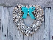 rustykalne serce z kryształ...