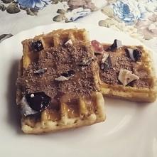 gofry z miodem i czekolada *,*