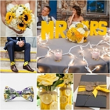 A Ty jaki kolor wybierasz na swój ślub? Może żółty?