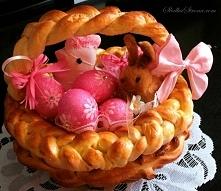 Drożdżowy Koszyczek Wielkanocny
