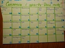 kwietniowe plany: zdrowie - sportowe wyzwanie - więcej po kliknięciu w zdj :)