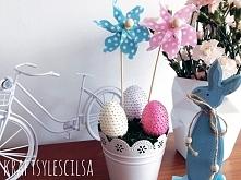 Wielkanocne dekoracje. Ceki...